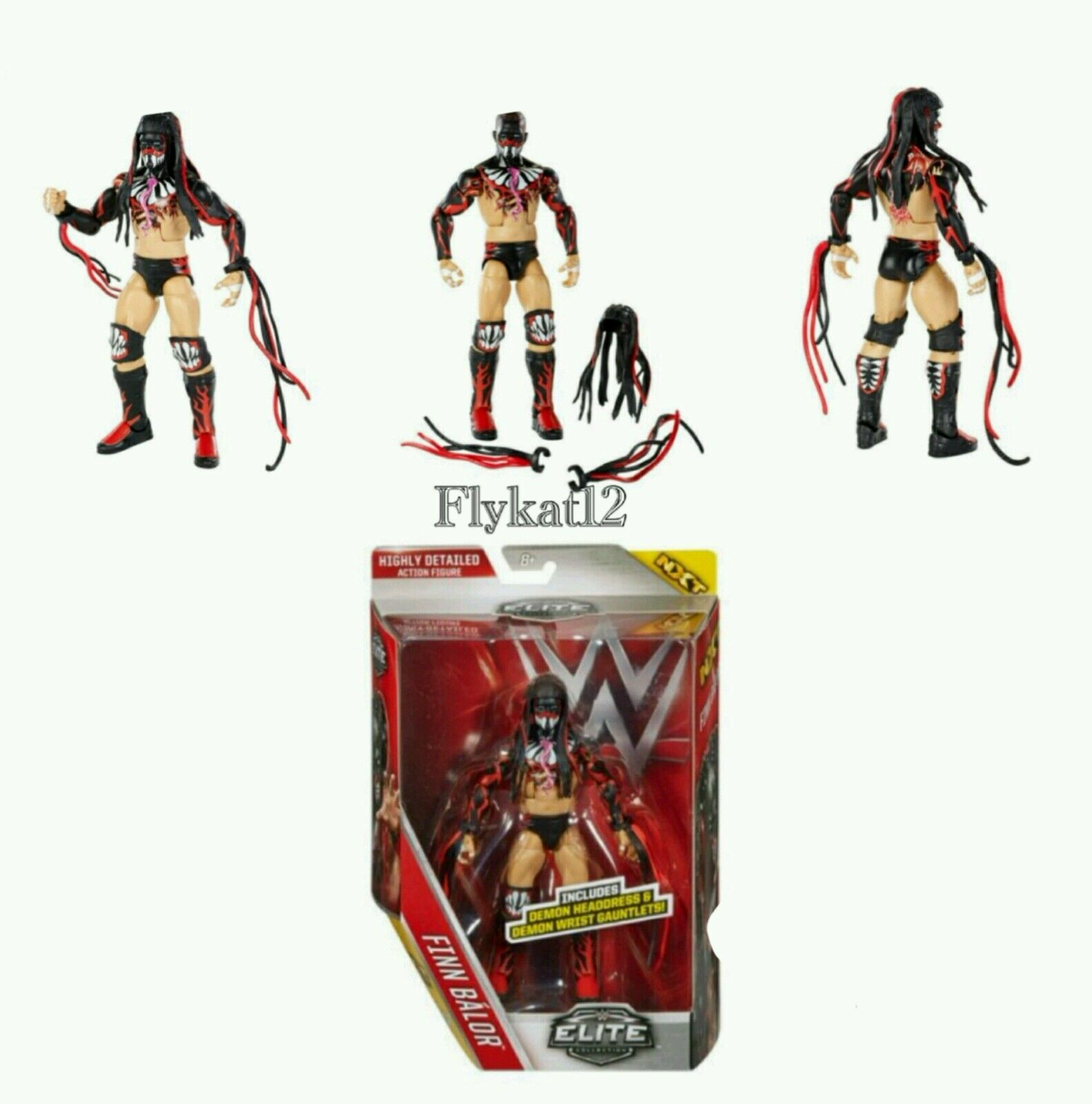WWE ELITE COLLECTION DEMON FINN BALOR azione cifra SERIES SERIES SERIES 41 NXT 773ecc