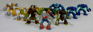 GIOCHI-PREZIOSI-GORMITI-LOT-OF-10-VARIOUS-ACTION-FIGURES
