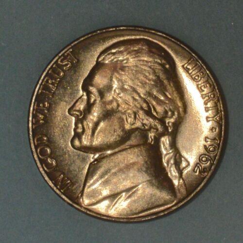 1962D  Jefferson Nickel BU one nickel from original roll