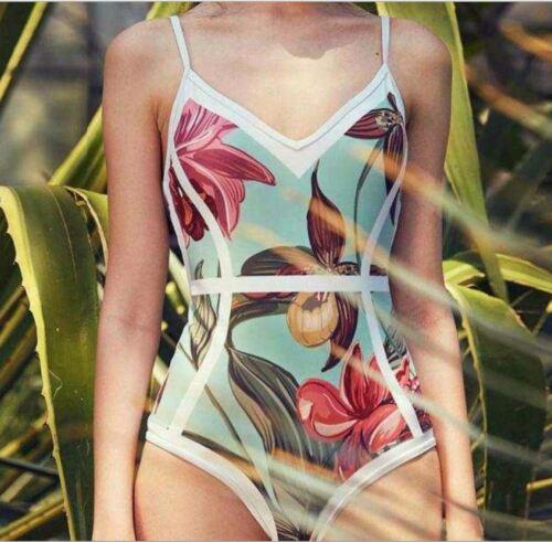 Womens Swimming Costume Padded One Piece Swimsuit Swimwear Monokini