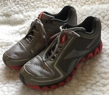 item 2 Reebok Ziglite Athletic Running Shoes Mens sz 5.5 Gray Silver Red -Reebok  Ziglite Athletic Running Shoes Mens sz 5.5 Gray Silver Red 4e6075b76
