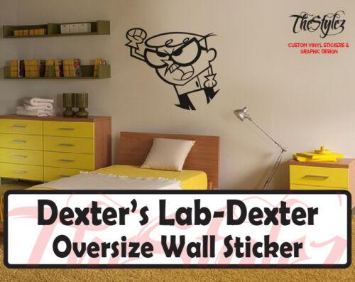 Dexter Custom Wall Oversize Wall Sticker Dexter/'s Lab