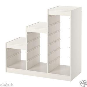 Details About Ikea Trofast Frame Storage White Width 39 10091453