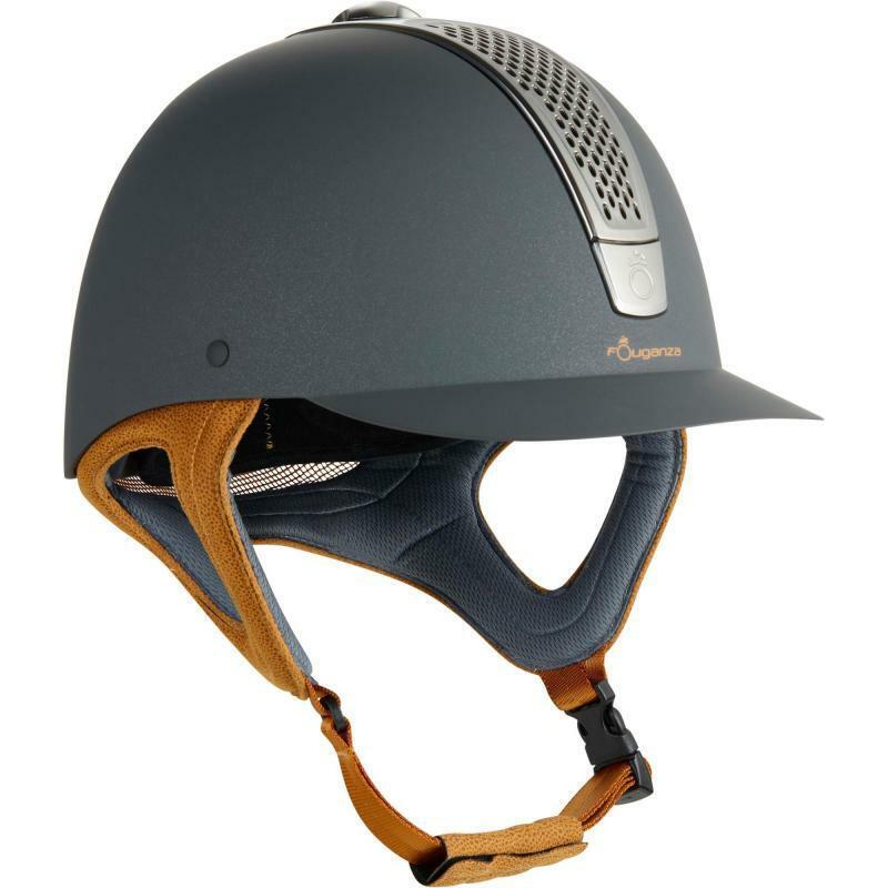 BEST PRICE C700 Horse Riding Helmet - Grey Camel