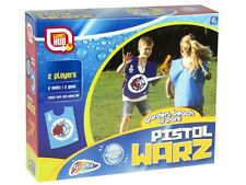 CHILDRENS KIDS TWO PLAYER WATER PISTOL GUN FIGHT WARS WARZ TOY GAME (SR42)