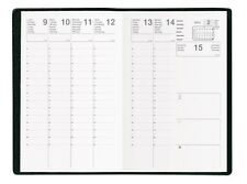 Agenda Semainier Civil 2017 c: Noir - Format  :16x16 cm NEUF