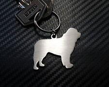 NEWFOUNDLAND DOG Breed Breeder Keyring Keychain Key Stainless Steel