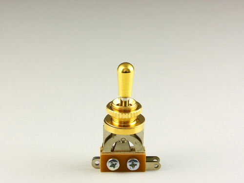 Toggle Switch Schalter Gold