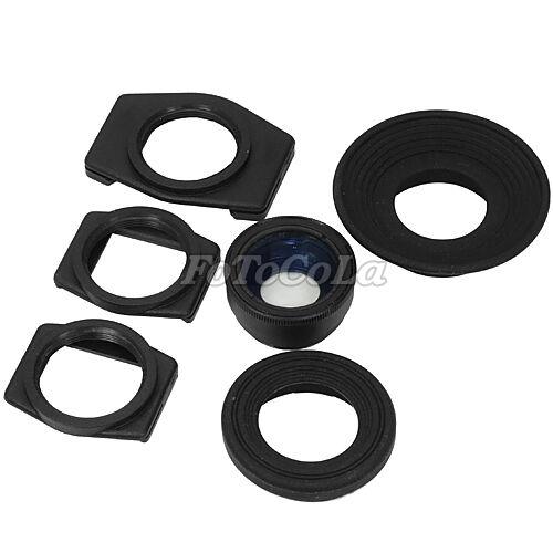 1.08x-1.58x zoom viewfinder eyepiece magnifier f Nikon D90 D300 D800 D3000 D5000