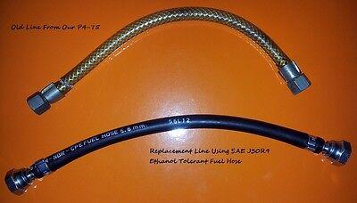 5.6mm ID SAE J30 R9 Fuel Hose 1.5m Ethanol Tolerant Pipe Aircooled VW CODAN Carb