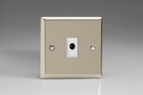 Varilight Classic Satin Chrome XNW Light Switch Socket Dimmer Toggle Cooker TV
