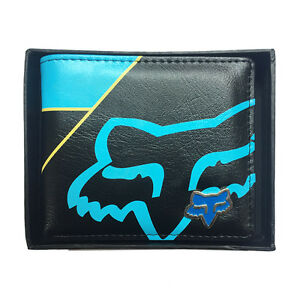 New-with-Box-FOX-Men-039-s-Surf-PU-Leather-Wallet-VALENTINE-Gift-231