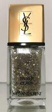 BNIB Yves Saint Laurent YSL #79 Silver Clash Nail Polish Limited Edition