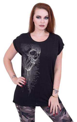 SPIRAL DIRECT BAT CURSE Turn up Sleeve Loose fit Tee//Skull//Gothic//Darkwear//Top