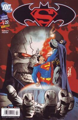 Comics Suche Nach FlüGen Batman/superman Nr 22/2008 Schrecklicher Wert Batman