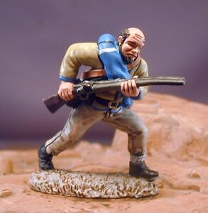 54mm-Confederate-ACW-25-with-Shotgun-Beautifully-Painted-TSSD