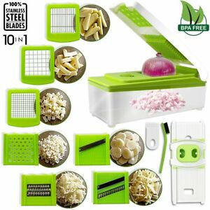 Vegetable-Slicer-Cutter-Stainless-Steel-Multi-Blades-Chopper-with-Cleaning-Brush
