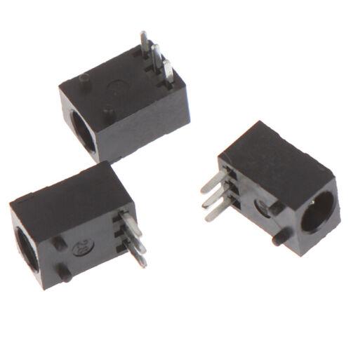 10X DC-003 3.5*1.3mm DC Power Jack Socket Connector 3-Pin Panel Mount Plug RSPF