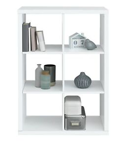 promo code 52ff7 ae08f Details about Argos Home Squares Plus 6 Cube Storage Unit - White