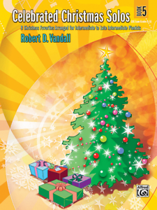 """celebrated Christmas Solos"" Book 5-piano-brand New On Sale Music Book/songbook! Conduire Un Commerce Rugissant"
