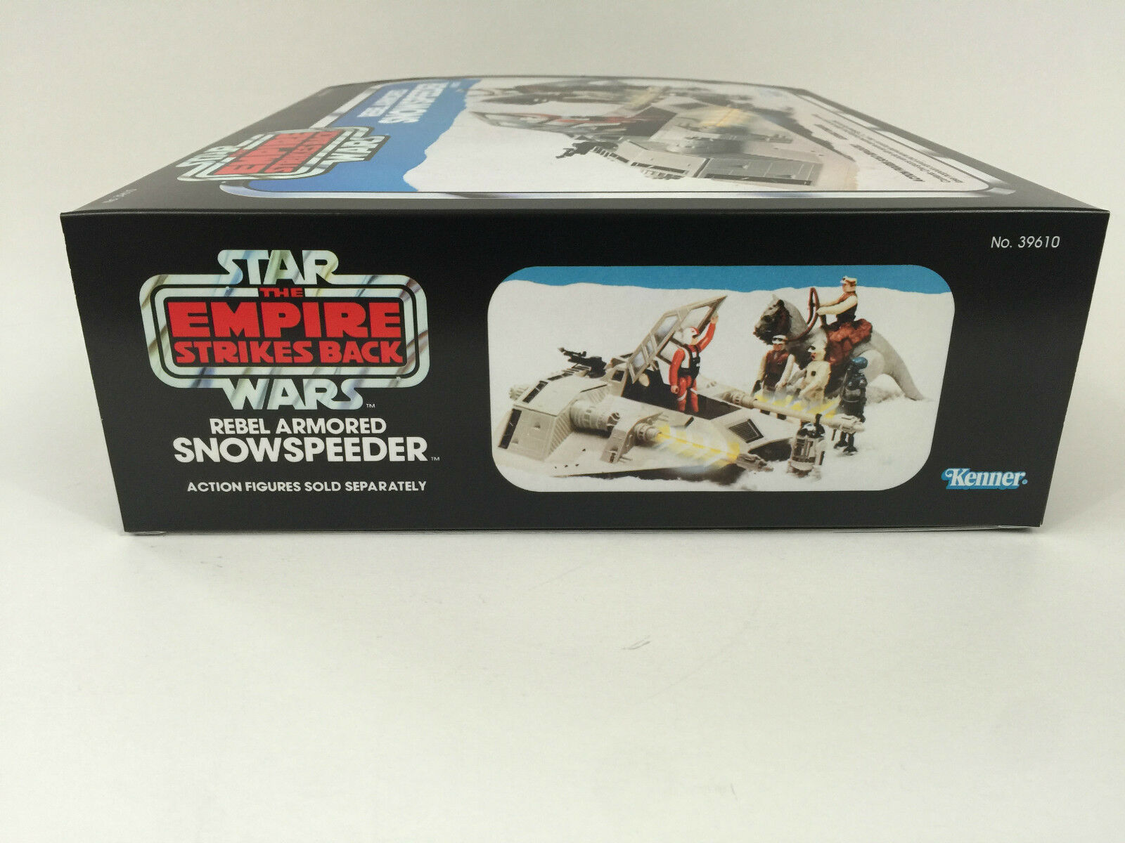 Replacement vintage star wars empire strikes strikes strikes back snowspeeder Blau box + inserts b0af86