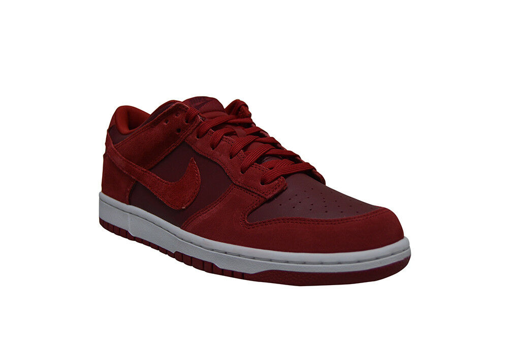 Mens Nike Dunk Low - 904234 601-  Red White Trainer Cheap and beautiful fashion
