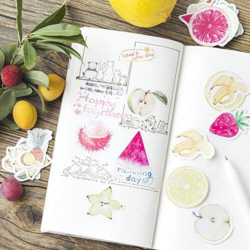CN/_ 45Pcs//Lot Cute Fruit Mini Decor DIY Album Diary Scrapbooking Label Sticker