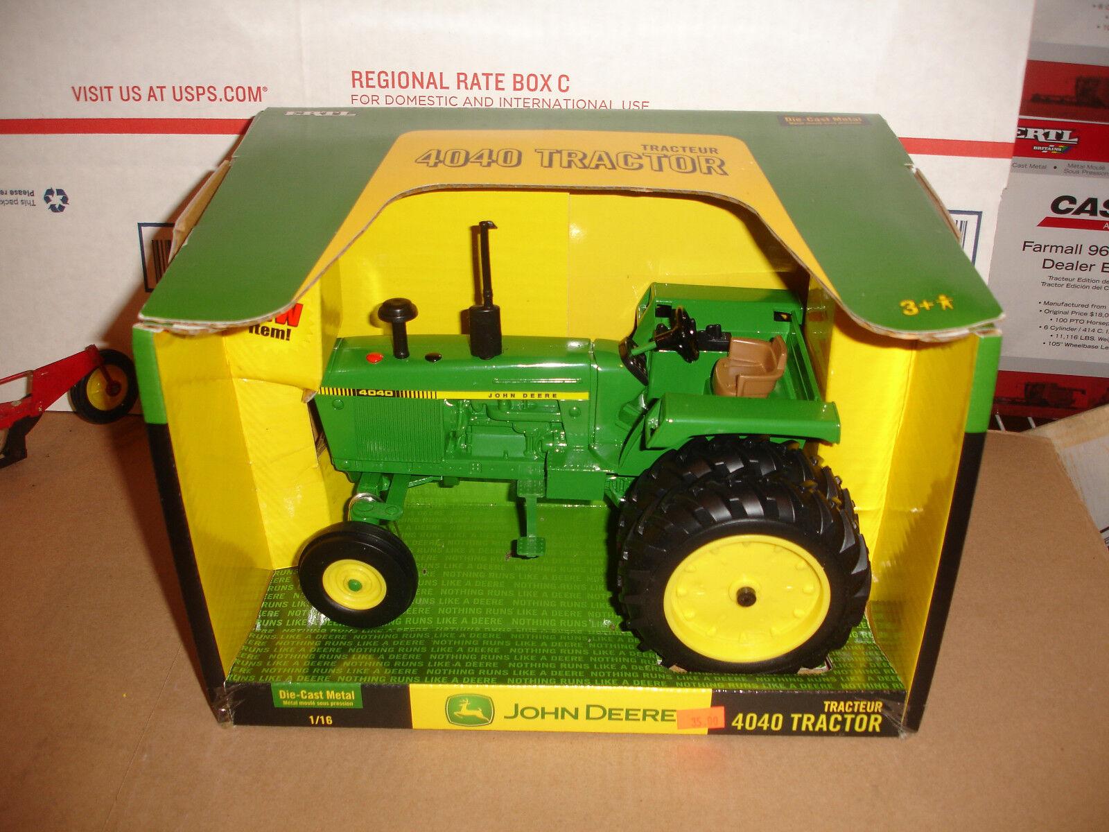 1 16  john deere 4040 toy tractor