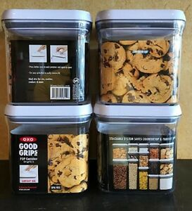 OXO Good Grips 24 Qt Food Storage POP Container 4 Piece Set