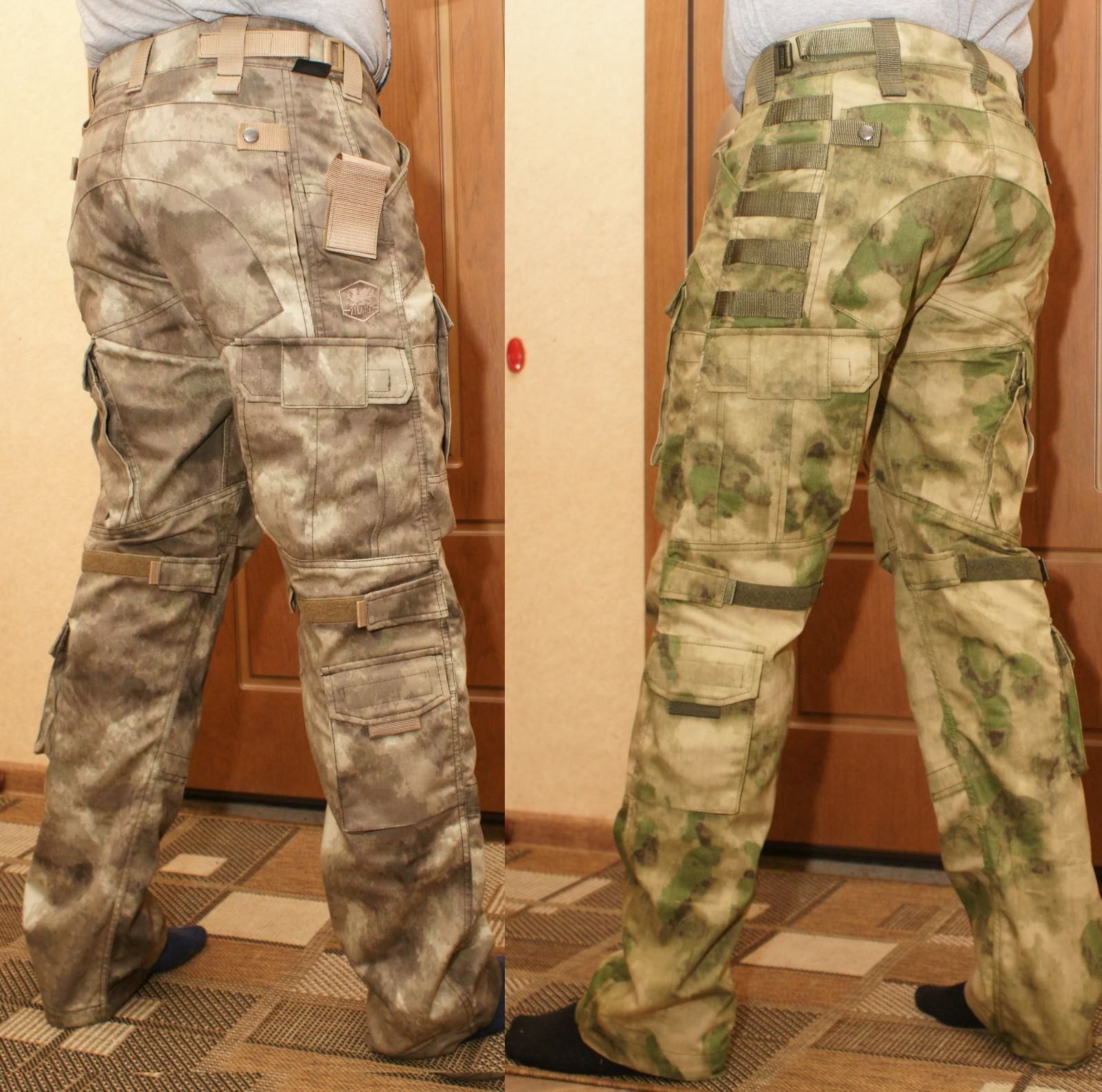 TACTICAL PANTS  MENS A-TACS FG & AU Zilant Camouflage 35% cotton 65% polyester  leisure