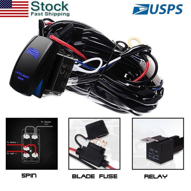 For Polaris Rzr 1000 900 Ranger 12v Rocker Switch Wiring