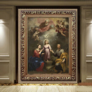 D82-Catholic-Christian-Holy-Religion-Framed-Painting-Picture-Jesus-Christ-M