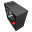 NZXT-H510i-Mid-Tower-Gaming-Case-Red-USB-3-0 thumbnail 7