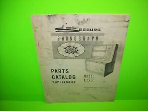 Seeburg-Select-O-Matic-LS2-Original-Jukebox-Phonograph-Parts-Supplement-1968