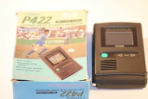 VERY-RARE-CITIZEN-LCD-COLOUR-TV-amp-MONITOR-P422-With-Box