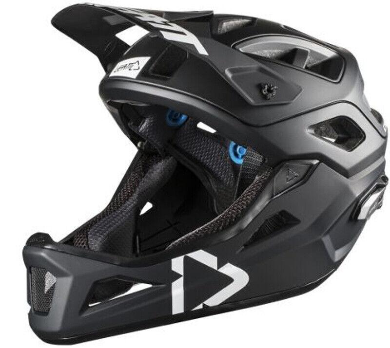 Leatt DBX 3.0 Enduro Bike Helmet negro blanco