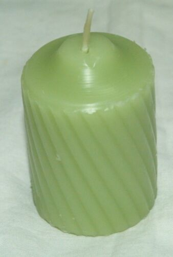 12-15 Hour Garden Fern Scented Votive Candles~Elegant Swirl Rib~Made-In-USA~WOW!