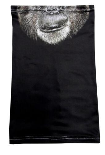 VECCHIO design basso di lenza necktube MONKEY Fromlowitz Maschera Biker Paintball