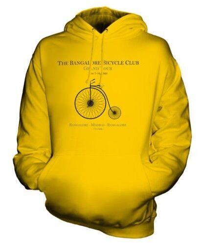 BANGALORE BICYCLE CLUB UNISEX HOODIE VINTAGE PRINT NOT BOMBAY FASHION