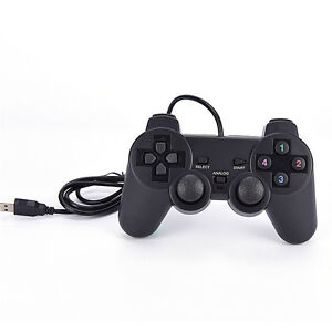 1pcs-Nero-USB-PC-Computer-Wired-Gamepad-Game-Controller-Joystick-ma