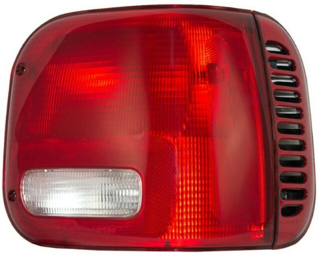 NEW RIGHT TAIL LAMP LENS AND HOUSING FOR 1999-2003 DODGE RAM 1500 VAN CH2801142