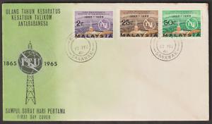 F20-MALAYSIA-1965-ITU-CENTENARY-FDC-KUCHING-SARAWAK-CDS-ISC-CAT-RM25