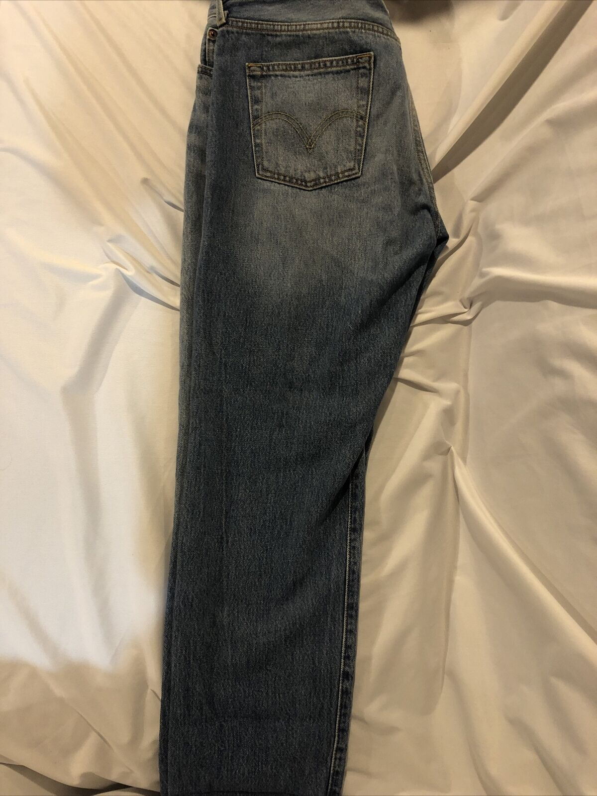 Levis Distressed 501 CT Jeans Size 28/32 - image 4