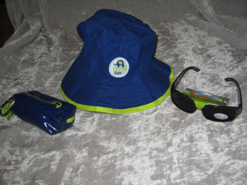 Children/'s Sun Rain Hat Tote Sunglasses Animals Mountain Climber Clip NEW!