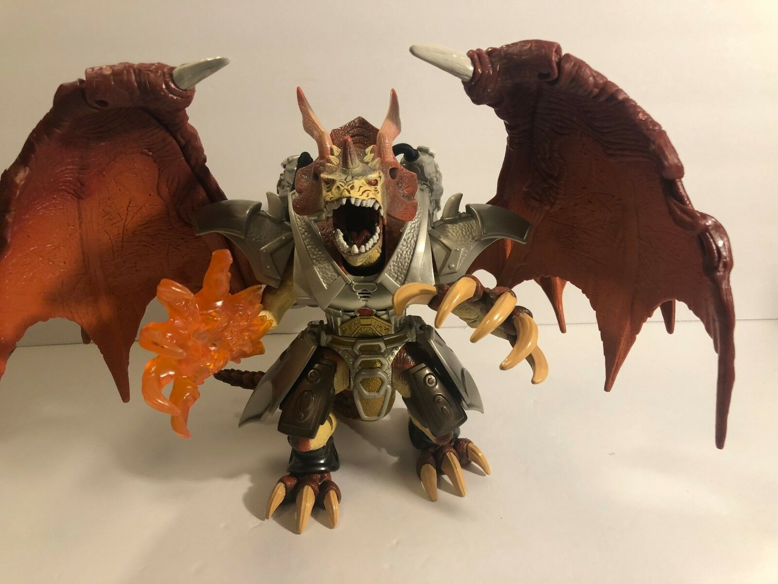 Duel Masters Bolshack Dragon Deluxe Electronic Action Figure 2003 Rare Tested
