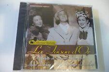 LA TOISON D'OR OPERETTE FRANCIS LOPEZ CD NEUF BOITIER FENDU. DASSARY LUPI