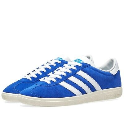 Adidas HERREN Jogger Spzl Turnschuhe Blau Weiß Spezial Trefoil Retro Vintage Neu | eBay