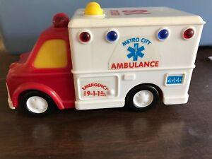 Painstaking Ambulance-funrise-toy Lustrous Surface Toys & Hobbies
