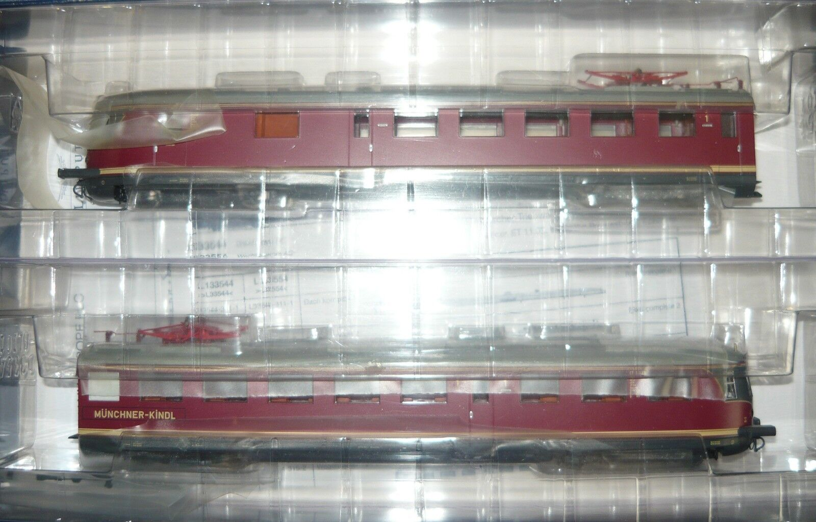 Liliput l133544, et 1103 ELETTR. TRIEBZUG delle DB  Monaco Kindl , h0, neu&ovp