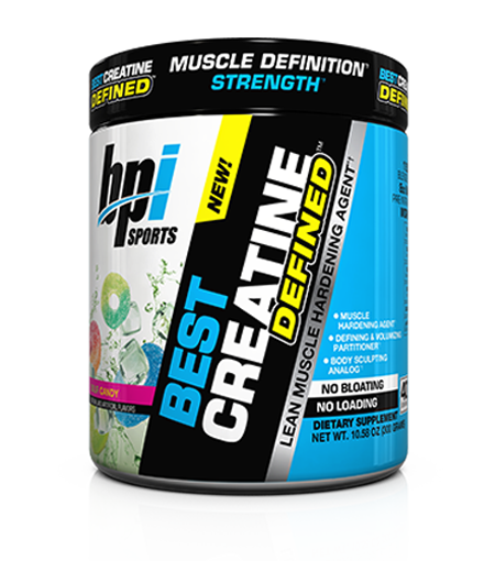 BPI Sports Best Creatine Defined- Lean Muscle Hardening Agent Supply 40